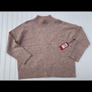 VINCE CAMUTO Small Mock Neck Knit Sweater NEW